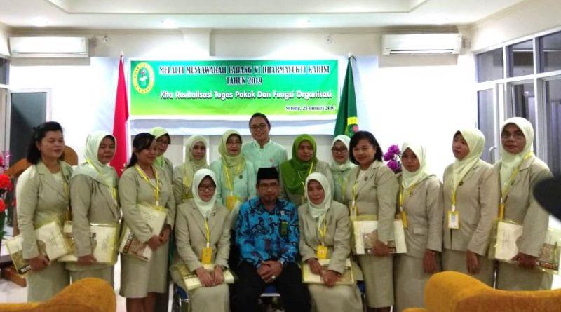 Musyawarah Cabang (MUSCAB) ke VI Dharmayukti Karini Cabang Sorong