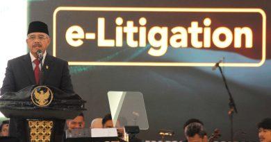 KETUA MAHKAMAH AGUNG : E-Litigasi, Redesain Praktek Peradilan Indonesia